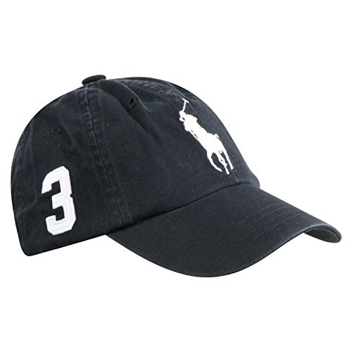 Ralph Lauren Herren Baseballkappe Schwarz One Size