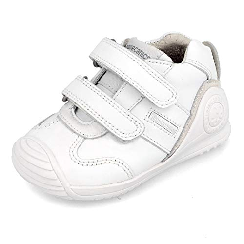 Biomecanics 151157, Zapatillas Unisex niños, Blanco (Super Soft), 22 EU