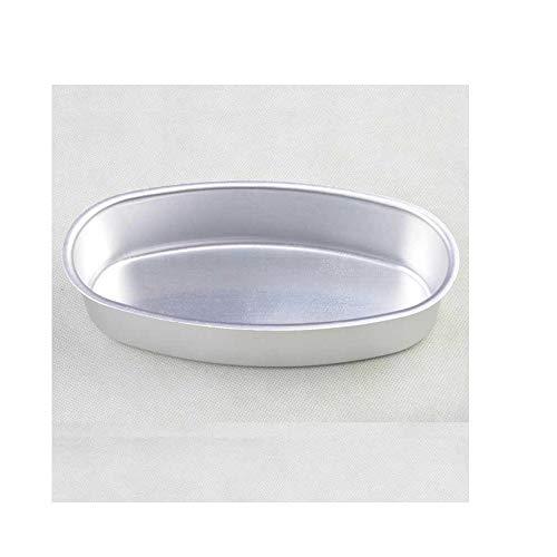 Dealglad in Lega di Alluminio Ovale Formaggio Torta Pan Cheesecake Pudding Mold Toast stampi per Dolci Torte