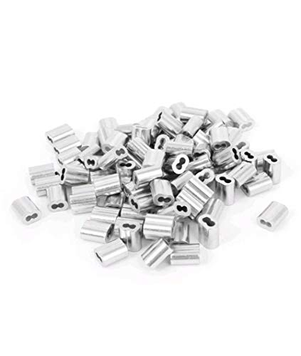 Why Should You Buy 1/16 Aluminum Double Ferrules Sleeves Traps Snare Parts~1000 Pack