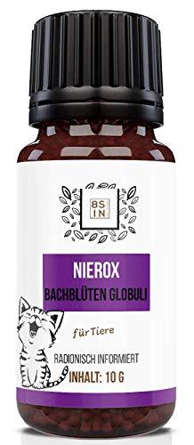 8 Sin Nutrition | Nierox Globuli für Haustiere (Hund, Katze, Pferd) | Tiere |Niere, Nierenfutter | 100% natürlich | 10g