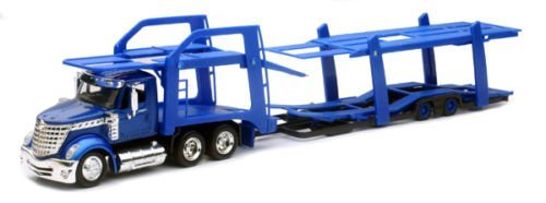New-Ray 1:43 Long Haul Trucker - International Lonestar Auto Carrier