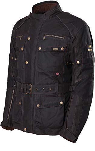 Modeka Glasgow Wachsjacke Schwarz 3XL