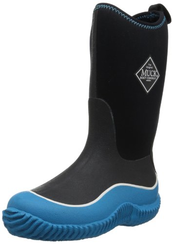 Muck Boots Hale Multi-Season Kids' Rubber Boot,Blue/Black,1 M US Little Kid