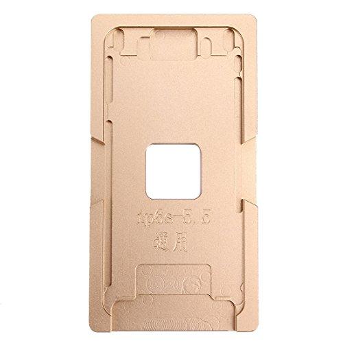 HAOHAOCHENG-WL compatibele vervanging voor iPhone 6 Asset & 6s Addition aluminiumlegering LCD-scherm verwijdert hechtende stijve vorm