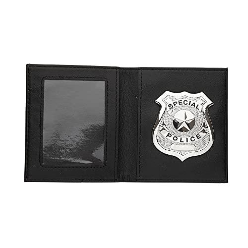 Widmann Distintivo Polizia In Portafoglio Costume E Accessori Forze Dell'Ordine 117, Multicolore, 8003558058594