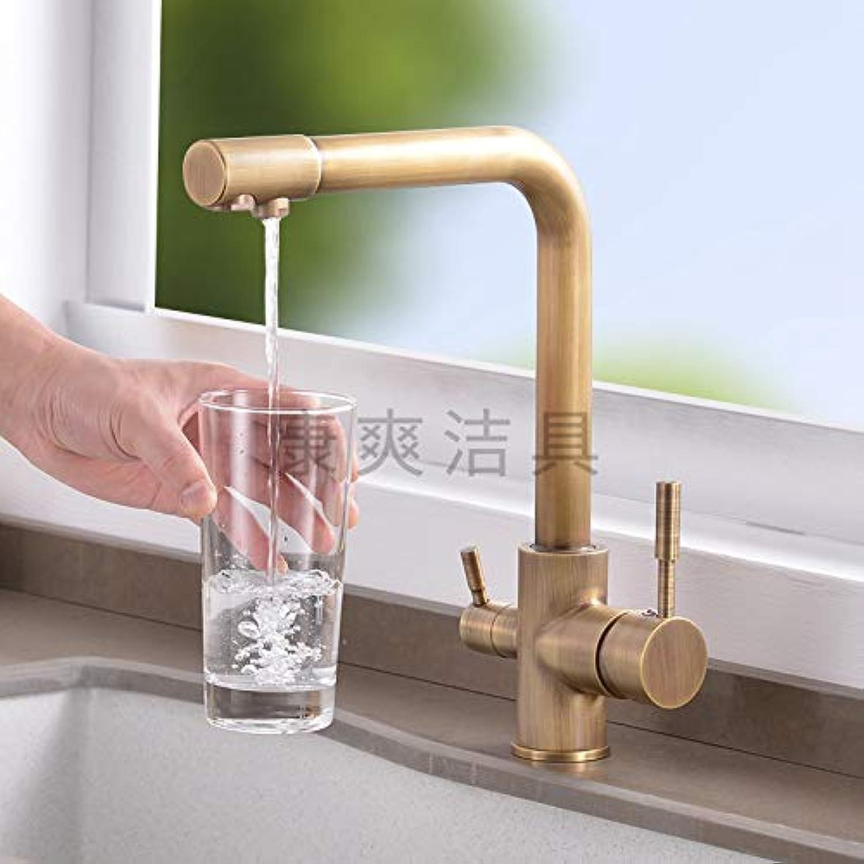 redOOY Bathroom Sink Taps Taps Faucet Basin Faucet Kitchen Water Dragon Chrome Kitchen Faucet Copper Antique Dish Basin Faucet
