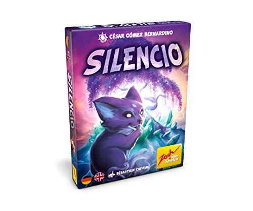 Zoch 601105142 Silencio, Das wortlose Kartenspiel, dass Spieler vor eine Herausforderung stellt, ab 10 Jahren