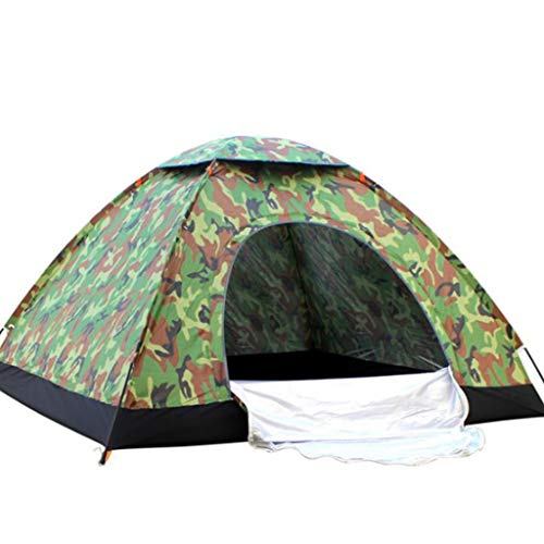 FREEDOL Outdoor Dome Tent, Camping Tent for 3 People, Rainproof And Sunscreen, Breathable And Anti-Mosquito, Outdoor Comfortable House Suitable for 2-4 People,Camouflage