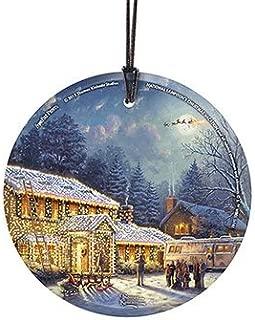 Trend Setters Thomas Kinkade Artwork National Lampoon's Christmas Vacation Glass