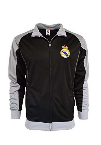 Real Madrid Jacket Track Soccer Adult Sizes Soccer Football Official Merchandise (L)