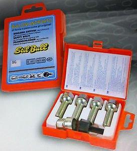 Bulloni Antifurto per Auto Farad Bmw Serie 1 / Serie 3 Ruote in Lega Originali (Stil Bull) fino al 2011