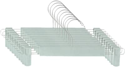 TINKSKY ズボンハンガー スカートハンガー ハンガー おしゃれ 滑り止め 多機能ハンガー 10本セット