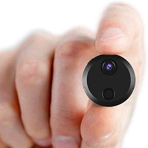 Cámara espía Wifi oculta, la cámara de vigilancia de seguridad más pequeña 1080P Full HD inalámbrica mini cámara espía, cámara inalámbrica portátil WiFi, cámara web de monitoreo remoto JIADUOBAO