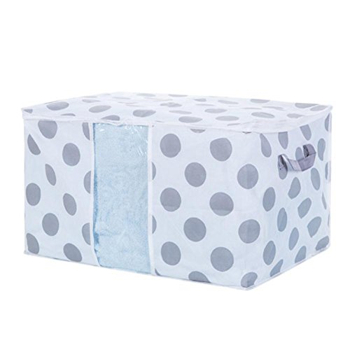Amlaiworld Plegable Caja bolsa de almacenamiento ropa manta edredón armario suéter organizador...