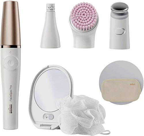 Braun FaceSpa 922 Pro Epilierer Weiß, Pink