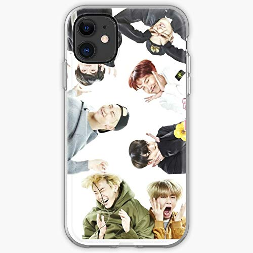 Funny Jungkook BTS Cute Kpop Jimin Hot Jhope I Fsgblockchain-Phone Case for All of iPhone 12, iPhone 11, iPhone 11 Pro, iPhone XR, iPhone 7/8 / SE 2020… Samsung Galaxy