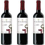 Finca Antigua Tempranillo Crianza Vino Tinto Crianza - 3 botellas x 750ml - total: 2250 ml