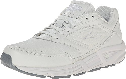 Brooks Addiction Walker White 10.5 B - Narrow