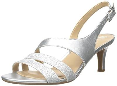 Naturalizer Women's Taimi, Silver Glitter, 6 M US