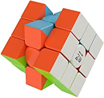 Smart High Speed Cube [IQ Tester] 3x3 Magic Speed Cube - Anti Stress for Anti-Anxiety Adults Kids - Best High Speed...
