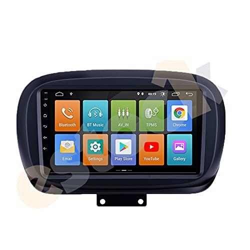STOCK1 Fiat 500X ANDROID 10.0 2din 9pollici 4 GB di RAM 64 DI ROM 8 CORE carplay CarTablet 500 X Radio Multimedia Wi-Fi GPS autoRadio stereo mp3