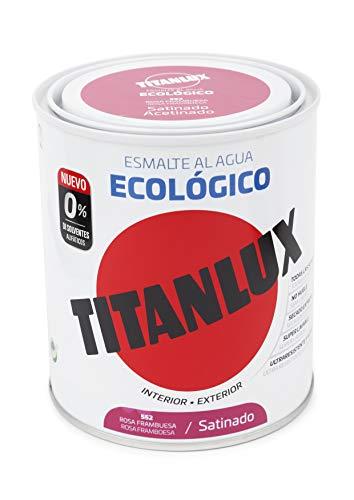 Ökologisches Wasser Titanlux Emaille Satinado - 750 ml, 552 Rosa Himbeere
