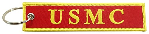 Luso Aviation US Marine Corps, USMC - Semper Fi, Embroidered Key Chain