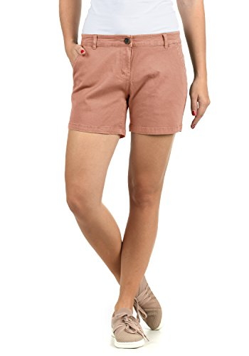 DESIRES Kathy Damen Chino Shorts Bermuda Kurze Hose Aus Stretch-Material Skinny Fit, Größe:38, Farbe:Rose Dawn (4916)