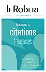 Dictionnaire de citations françaises - L'intégrale de Pierre Oster