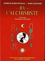 Coffret Le jeu de l'alchimiste - Contient : 1 livre, 49 cartes en couleurs, 56 cartes