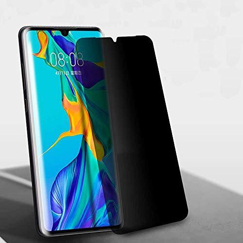 KABIOU Anti-Spy Panzerglas Bildschirmschutzfolie für Huawei Nova 4 3i 3E 2i 5t 6 Y9 2019 Privacy Glas für Huawei Honor 10 9 8C 8X Folie, Schwarz, Huawei Y9 2019