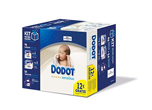 Dodot Sensitive Pañales Talla 1