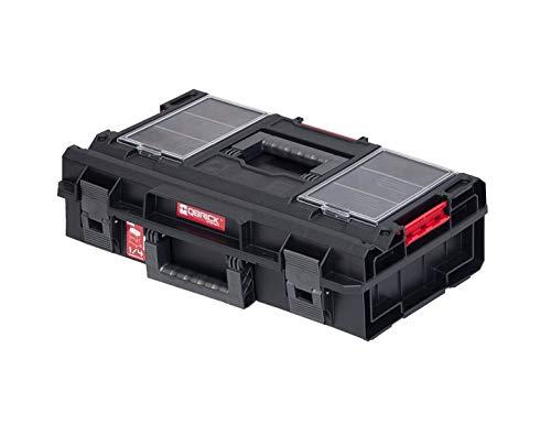 Qbrick Werkzeugkoffer ONE 200 PROFI SYSTEM modulare Merzweckbox für Werkzeug Kunststoff Trennwänden