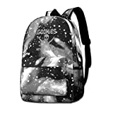 Rogerds Galaxy Printed Mochila de Portátil Goonies-Never-Say-Die Fashion Casual Star Sky Backpack...