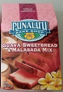 Punalu'u Bake Shop's Hawaiian Guava Sweetbread and Malasada (Donuts) Mix