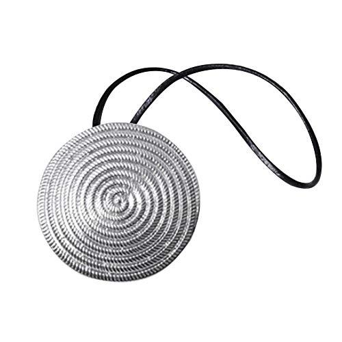 HShyxlkj Magneet gordijn gesp gratis installatie gordijn riem, Metalen spoel Magnetische Gordijn Gesp Tieback Holdback Houder Clip Slaapkamer Decor Zilver