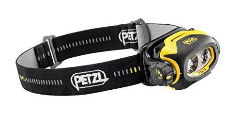 PETZL Pixa 3R ATEX Stirnlampe, Mehrfarbig (Schwarz,Gelb), One Size