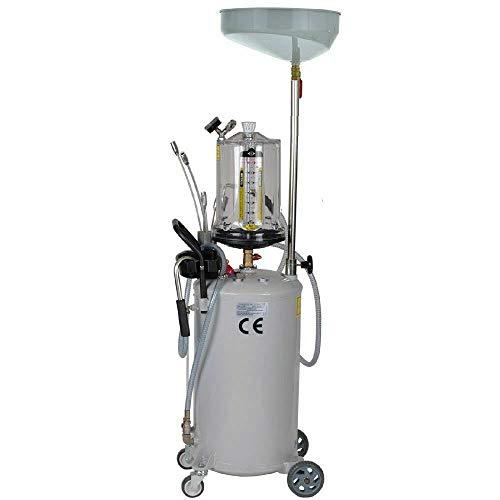 Aohuada Dispositivo de recogida de aceite usado, 75 l, aspirador de aceite usado, depósito de recogida de aceite, dispositivo de recogida de aceite, herramienta 0-0,08 mpa