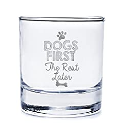 """Measures 3.68""""H x 3.125"""" Diameter 10-ounce capacity Engraved and Made in USA Dishwasher safe 1pc"""