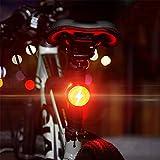 AMAIRS Fanali Posteriori a LED per Biciclette, Luci di Avvertimento per La Sicurezza Sportiva con Ricarica USB Protezioni Impermeabili per La Guida Notturna