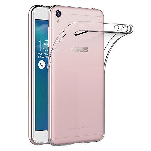 AICEK ASUS Zenfone 3 Go ZB501KL / Asus Zenfone Live ZB501KL Hülle, Transparent Silikon Schutzhülle für Zenfone 3 Go Hülle Crystal Clear Durchsichtige TPU Bumper Zenfone 3 Go Handyhülle 5 Zoll