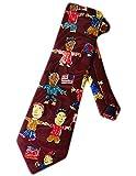 Hommes Cravate Cravate,Steven Harris Enfants Multiculturels Enfants Cravate Bleu Taille Unique Cravate,Neck Tie,145Cm