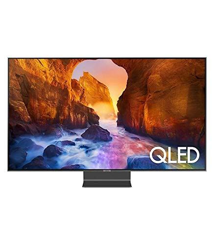 """Samsung QLED 4K 2019 55Q90R - Smart TV de 55"""" con Resolución 4K UHD, Direct Full Array Elite, Q HDR 2000, Inteligencia Artificial 4K, Premium One Remote, Apple TV y Compatible con Alexa"""