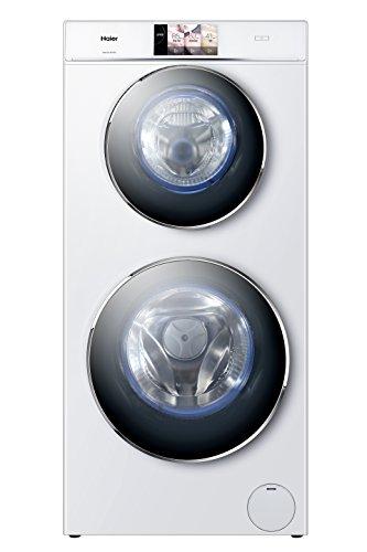 Haier HW120-B1558 Independiente Carga frontal 12kg 1500RPM A+++ Color blanco - Lavadora (Independiente, Carga frontal, A+++, B, Color blanco, TFT)