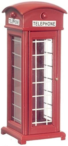 100% a estrenar con calidad original. Dollhouse Miniature 1 12 Scale rojo Phone Phone Phone botash T5965 by Town Square  almacén al por mayor