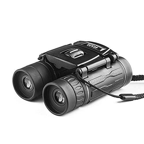 AEUWIER Binocolo piccolo Compatto per adulti Bambini, binocolo militare HD 40x22 Telescopio da caccia professionale Zoom Visione di alta qualità Senza oculare a infrarossi