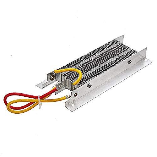 DIMENXONG Conjuntos y componentes electrónicos DIY 800W 60V PTC Calentador de Aire eléctrico de cerámica termostática Aislamiento PTC Calefacción Resistencia de Calor