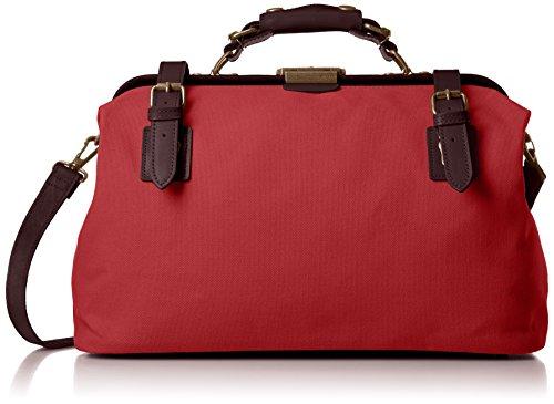 [キワダ] ボストンバッグ キワダダレス 帆布小 鞄の聖地兵庫県豊岡市製 赤