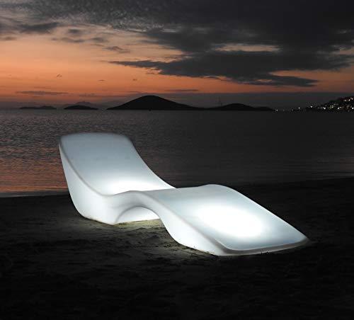 My Sunset Tumbona ILUMINADA (Plástico, con Iluminación)